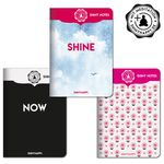 Shiny Notes / 3er Pack / No. 02 / PLUS Meditation 001