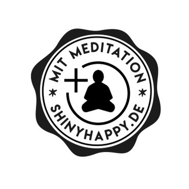 Shiny Notes / Black  A5 / PLUS Meditation / Loslassen im Jetzt – Bild 3