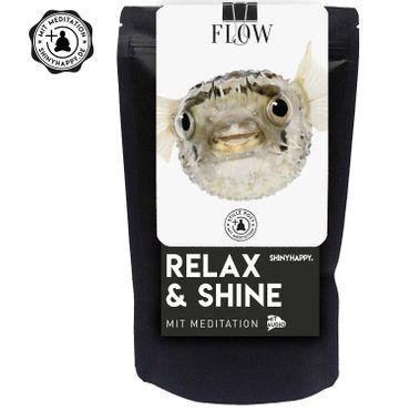 "Relax & Shine - SET  ""Flow"" / Kerze & Badetaler & Meditation – Bild 2"