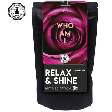 "Relax & Shine - SET ""Who am I"" / Kerze & Badetaler & Meditation  – Bild 2"