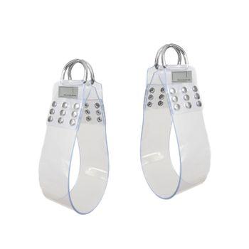 Liebesschaukel - PVC Beinschlaufen, transparent ohne Ketten