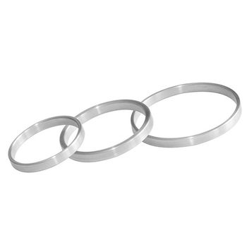 Hoden Penis Ringe 5mm Aluminium im 3er Set [Sibada] – Bild 2