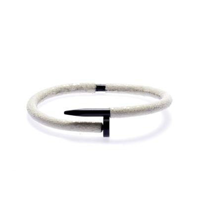Armband Python white Bild 1