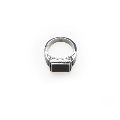 Ring Steel black Bild 2