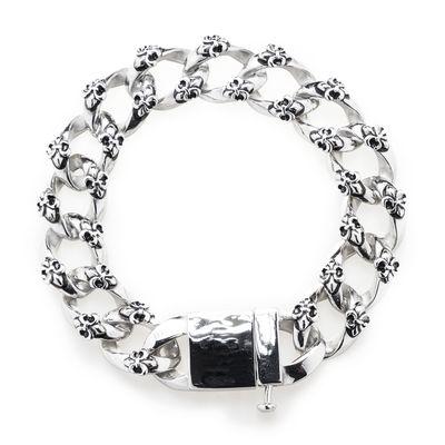 Bracelet Steel Fleur De Lis