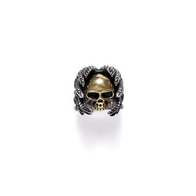 Ring Skull Angel Wings Bild 1