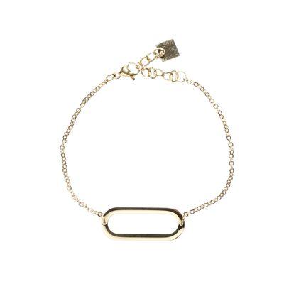 Armband oval gold