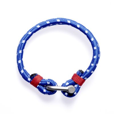 Armband Clasp blue silver