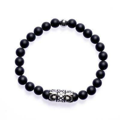 Bracelet Bead Lavastone Orient Bild 1