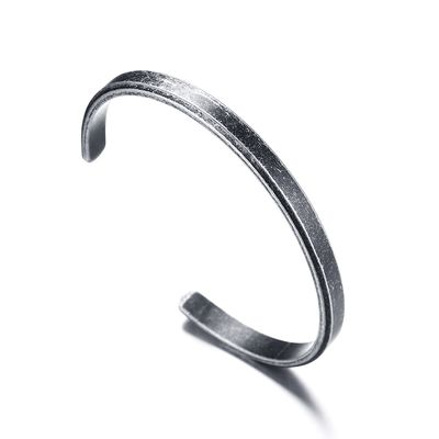 Bangle antic silver