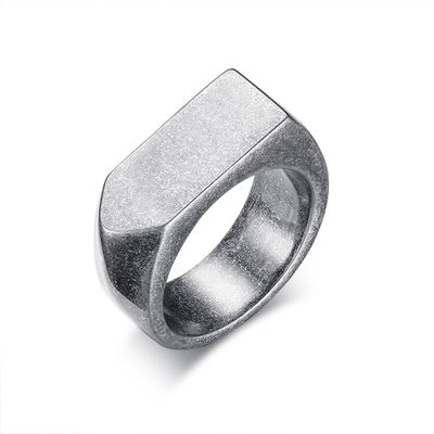Ring antic silver