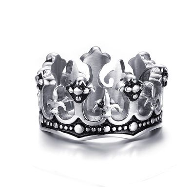 Ring King silver Bild 1