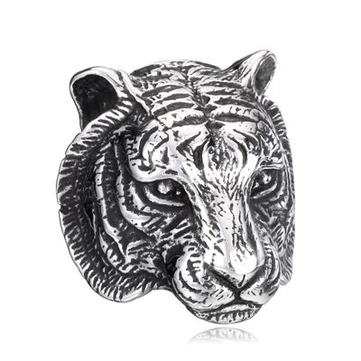 Ring Tiger silver Bild 1