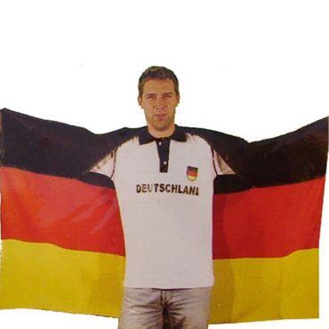Fahne Flagge Fanumhang 145x90 cm Deutschland Germany