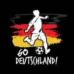 T-Shirt Go Deutschland Trikot Fanshirt Damen schwarz Gr. S - 2XL - Fanshirt Fanartikel Fanshop Fußball Weltmeisterschaft WM 2018 Russland Bild 2