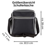 Schultertasche Wenn Du kein Kölner sein willst, dann biste halt kacke! Schwarz - Köln Kölner Fußball Tasche Fanartikel Bild 3