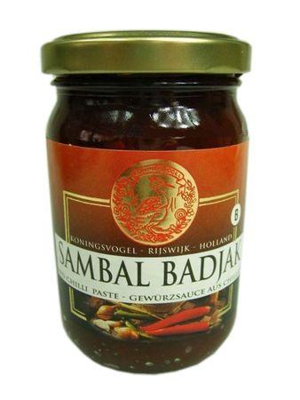 [ 200g ] KONINGSVOGEL Sambal Badjak / Würzige Sauce / Spicy Sauce