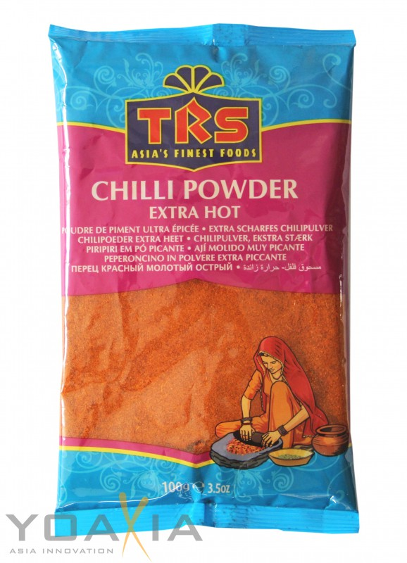 [ 3x 100g ] TRS Chili Pulver EXTRA SCHARF/ Chilli Powder Extra Hot