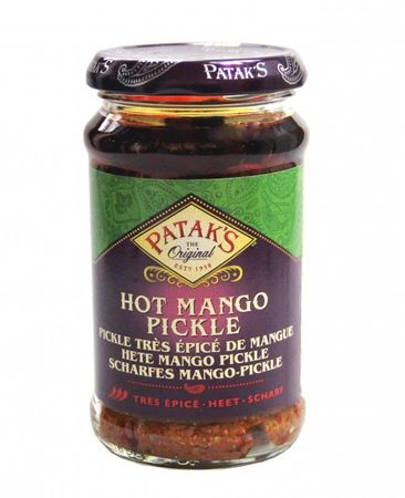 [ 283g  ] PATAK'S HOT Mango Pickle / Scharfe Mango Pickles