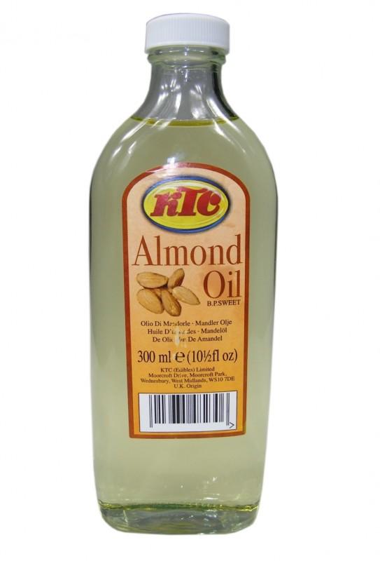 [ 300ml ] KTC Mandelöl / Speiseöl und für die Körperpflege / ALMOND OIL