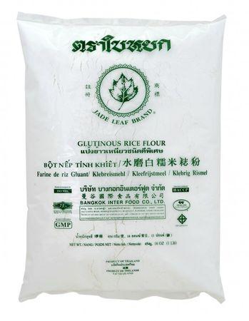 [ 454g ] JADE LEAF BRAND Klebreismehl / Klebreis Mehl / Glutinous Rice Flour