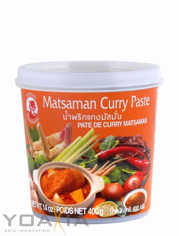 [ 400g ] COCK Matsaman Currypaste / Matsaman Curry Paste