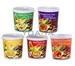 [ 5x 400g ] COCK Curry Paste je 1x 400g Rote, Gelbe, Grüne, Panang, Matsaman 001