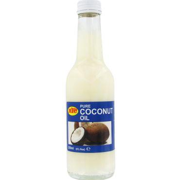 [ 250ml ] KTC 100% Reines Kokosöl / Cocosöl / Kokosnussöl / Pure Coconut Oil