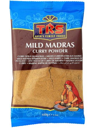 [ 100g ] TRS Mildes Currypulver aus Madras / MILD Madras Curry Powder