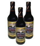 [ 3x 500ml ] PRB Dunkle Soja-Pilzsauce / Mushroom Flavoured Superior Dark Soy Sauce 001