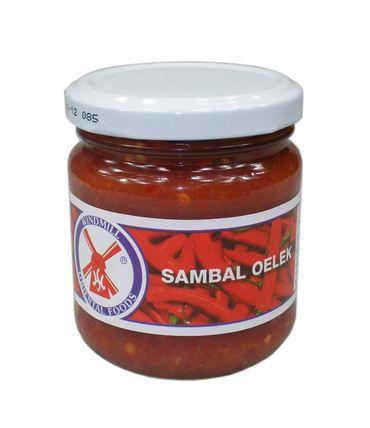 [ 200g ] WINDMILL Sambal Oelek / Chilipaste / Chilli Paste