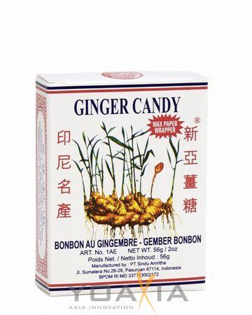 [ 56g ] SINA GINGER CANDY / Ingwerbonbons / Ingwer Bonbons / Gemberbonbons