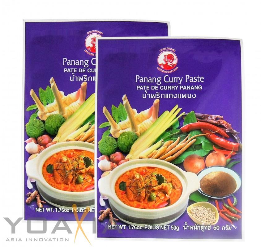 [ 2x 50g ]  COCK Panang Currypaste / Panang Curry Paste