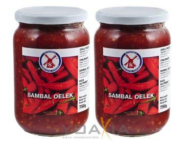 [ 2x 750g ]  WINDMILL Sambal Oelek / Chilipaste / Chilli Paste