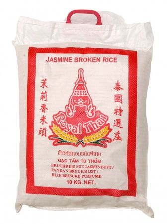 [ 10kg ] ROYAL THAI Bruchreis mit Jasminduft / Jasmin Broken Rice