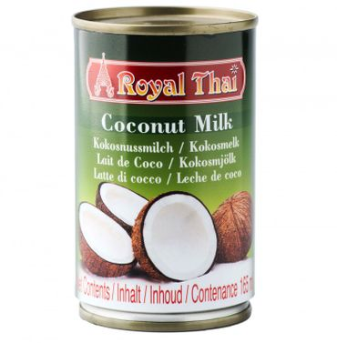 [ 165ml ] ROYAL THAI Kokosnussmilch / Kokosmilch / Coconut Milk