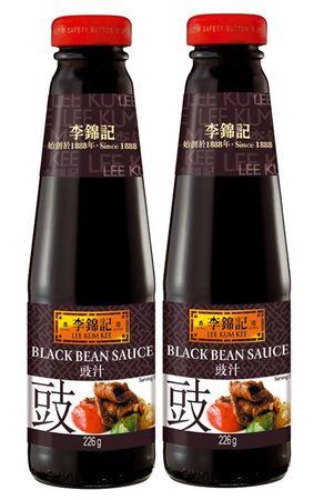 [ 2x 226g ] LEE KUM KEE Schwarze-Bohnen Sauce / Black Bean Sauce