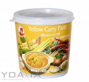 [ 400g ] COCK Gelbe Currypaste / Yellow Curry Paste