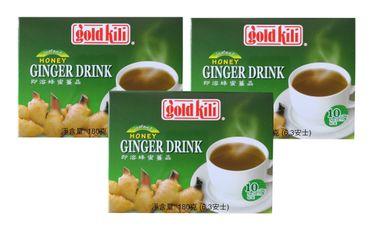 [ 3x 180g ( 10x18g) ] GOLD KILI  Instant Ingwer Getränk / Ingwergetränk / Ginger Drink