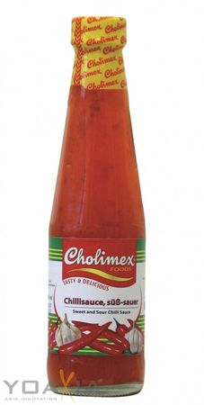 [ 250ml ] CHOLIMEX Chilisauce, süß-sauer / Sweet and Sour Chili Sauce