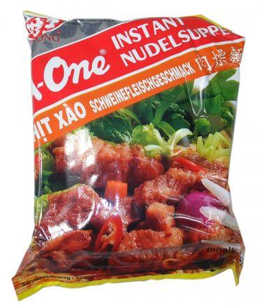 A-One [ 30x 85g ] Instant Nudelsuppe [ Schweinefleischgeschmack ]
