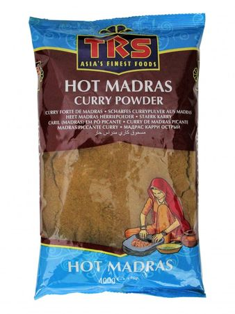 [ 400g ] TRS Scharfes Currypulver aus Madras / HOT Madras Curry Powder