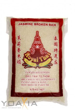 [ 4,5kg ] ROYAL THAI Bruchreis mit Jasminduft / Jasmin Broken Rice