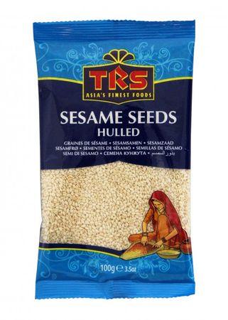 [ 100g ] TRS Sesamsamen WEIß, geschält /  Sesam / Sesame Seeds WHITE hulled