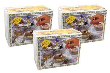 [ 3x 70g ] GINGEN 100% Instant Ingwer Getränk ohne Zuckerzusatz / 100% Instant Ginger Drink