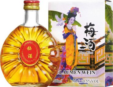[ 200ml ] China Plum Pflaumenwein aromatisiert alc.10,5% vol #12