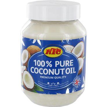 [ 500ml ] KTC 100% Reines Kokosöl / Cocosöl / Kokosnussöl / Pure Coconut Oil