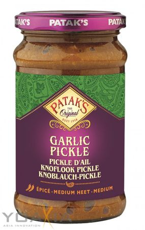 [ 300g ] PATAK'S Knoblauch Pickle / Garlic Pickle