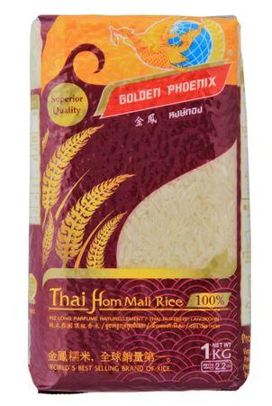 [ 1kg ] GOLDEN PHOENIX Thai Duftreis Langkorn / Jasmine Rice / Superior Quality