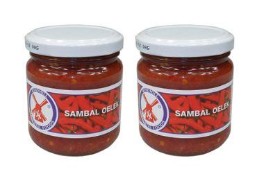 [ 2x 200g ] WINDMILL Sambal Oelek / Chilipaste / Chilli Paste